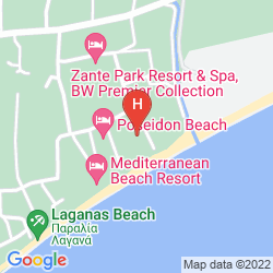 Mappa GALAXY BEACH RESORT, BW PREMIER COLLECTION