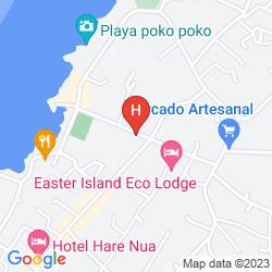 Mappa HOSTAL RAPA NUI