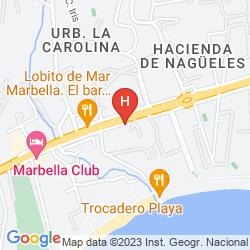 Mappa MARBELLA CLUB