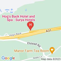 Mappa LEGACY FARNHAM HOG'S BACK