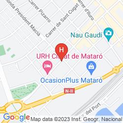 Mappa URH CIUTAT DE MATARO