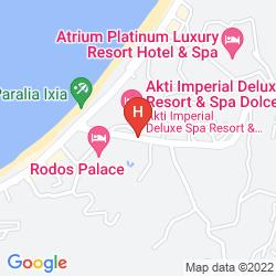 Mappa AKTI IMPERIAL DELUXE RESORT SPA