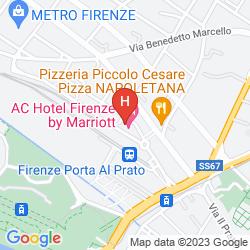 Mappa AC FIRENZE