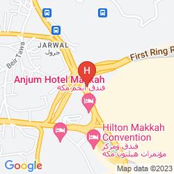 Mappa SHERATON MAKKAH JABAL AL KAABA
