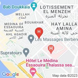 Mappa RIAD DU FIGUIER