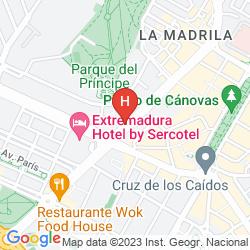 Mappa EXTREMADURA