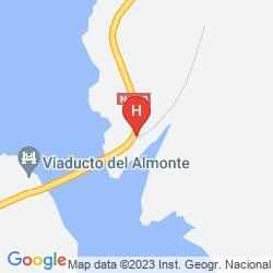 Mappa HOSPEDERIA PUENTE DE ALCONETAR (ONLY ATLAS)