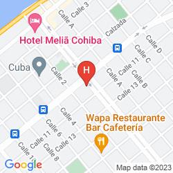 Mappa PASEO 206 BOUTIQUE HOTEL