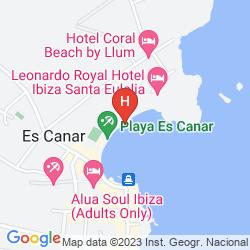 Mappa ANFORA PLAYA