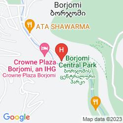 Mappa GOLDEN TULIP BORJOMI