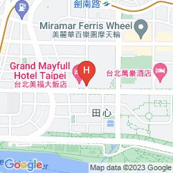 Mappa GRAND MAYFULL HOTEL TAIPEI