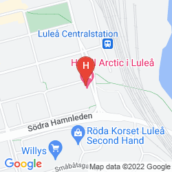 Mappa COMFORT HOTEL ARCTIC
