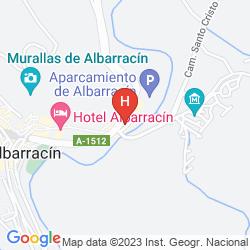 Mappa ALBARRACIN