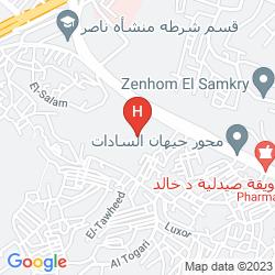Mappa INTERCONTINENTAL CITYSTARS CAIRO