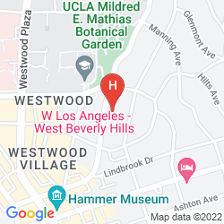Mappa W LOS ANGELES - WEST BEVERLY HILLS