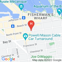 Mappa ZOE FISHERMAN'S WHARF