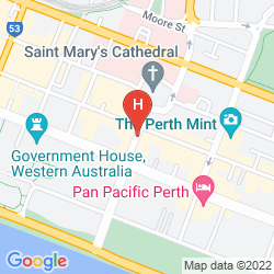 Mappa ALL SUITES PERTH