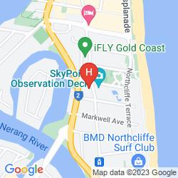 Mappa WATERMARK HOTEL & SPA GOLD COAST