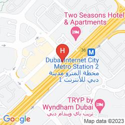 Mappa ALSALAM GRAND HOTEL APARTMENTS