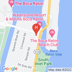 Mappa WATERSTONE RESORT & MARINA BOCA RATON, CURIO COLLECTION BY HILTON