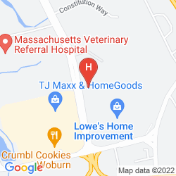 Mappa RED ROOF INN BOSTON WOBURN