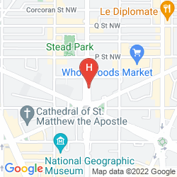 Mappa ROUGE  - A KIMPTON HOTEL