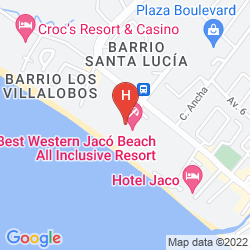 Mappa BEST WESTERN JACO BEACH RESORT