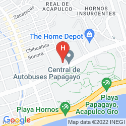 Mappa TORTUGA EXPRESS
