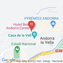 Mappa ANDORRA CENTER
