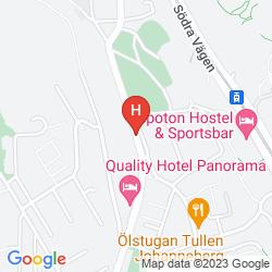 Mappa QUALITY HOTEL PANORAMA