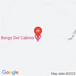 Mappa BORGO DEL CABREO