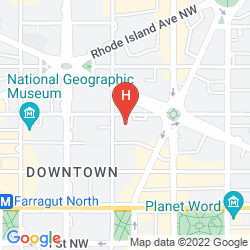 Mappa THE MADISON THE WASHINGTON DC, A HILTON HOTEL