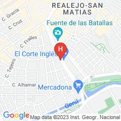 Mappa BARCELÓ CARMEN GRANADA