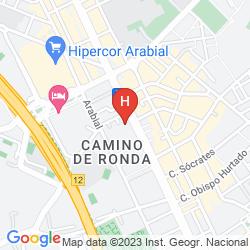 Mappa URBAN DREAM GRANADA