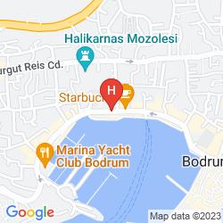 Mappa YASMIN BODRUM RESORT
