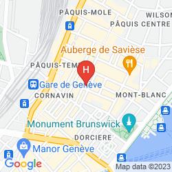 Mappa IBIS GENEVE CENTRE LAC
