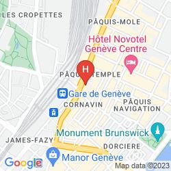 Mappa WARWICK GENEVA