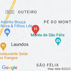 Mappa SAO FELIX HOTEL HILLSIDE & NATURE
