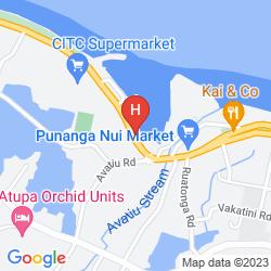 Mappa AQUARIUS RAROTONGA