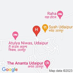Mappa THE ANANTA UDAIPUR