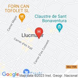 Mappa VILLA MARIA DAMIGOU