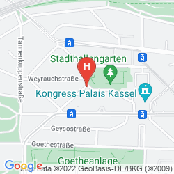 Mappa H4 HOTEL KASSEL
