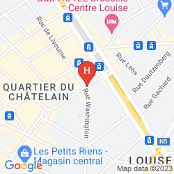 Mappa LE CHATELAIN BOUTIQUE