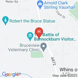 Mappa KING ROBERT HOTEL