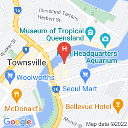 Mappa TOWNSVILLE CENTRAL