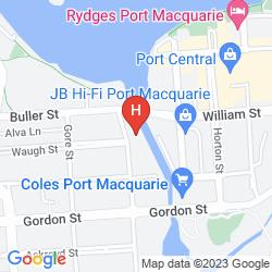 Mappa LE GEORGE MOTEL