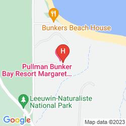 Mappa PULLMAN BUNKER BAY RESORT MARGARET RIVER REGION