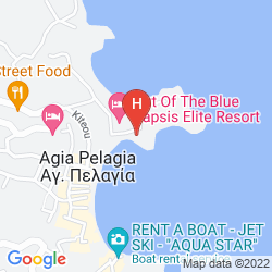 Mappa CAPSIS ELITE RESORT