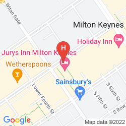 Mappa RAMADA ENCORE MILTON KEYNES