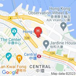 Mappa GRAND HYATT HONG KONG